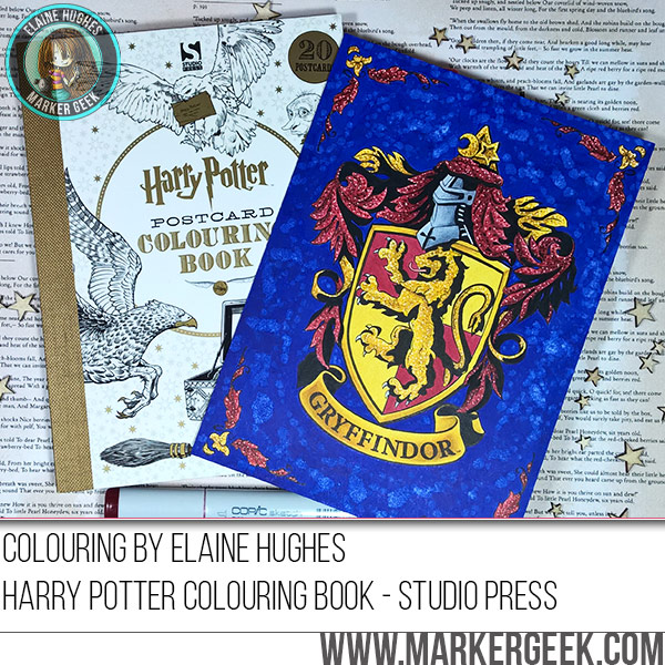 - 2016-11-11-harry-potter-coloring-book-gryffindor-crest-copic - Marker Geek